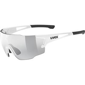 UVEX sportstyle 804 V Lunettes de sport, white/vario silver mirror